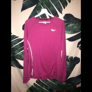 Saucony Reflective Workout Long Sleeve